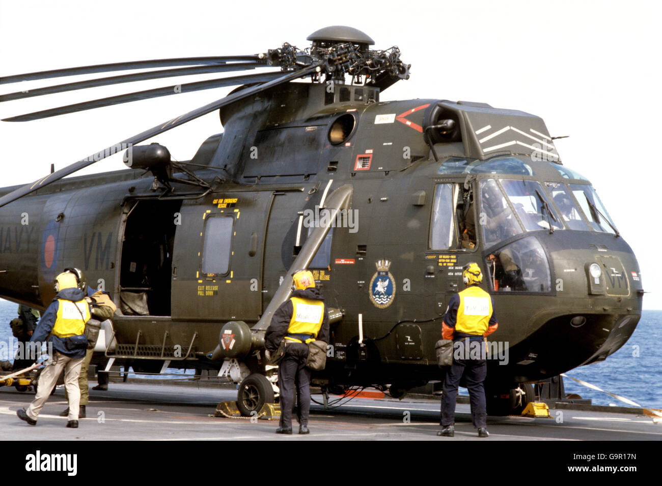 Image result for Falkland war sea king