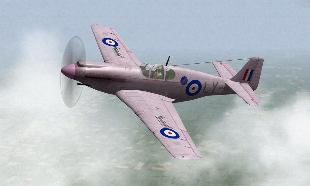 RAF MUSTANG PR1.01