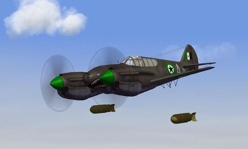 DHIMAR P-42D TWIN WARHAWK.06