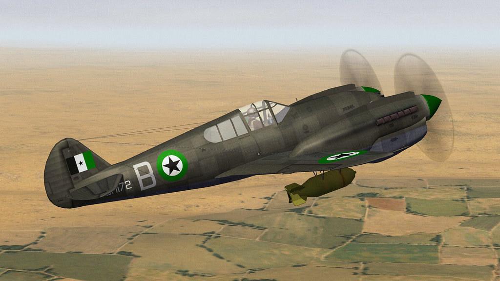 DHIMAR P-42D TWIN WARHAWK.07