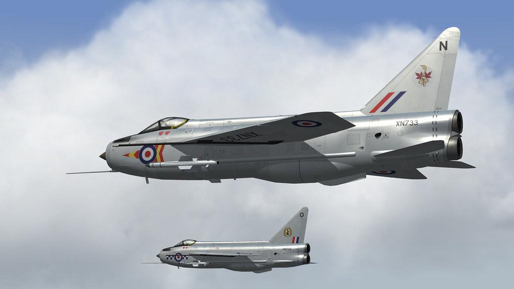 RAF LIGHTNING F2.01