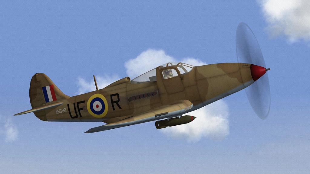 RAF AIRACOBRA 1B.05