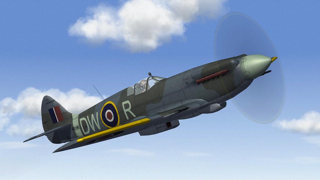 RAF SPITFIRE 14.01