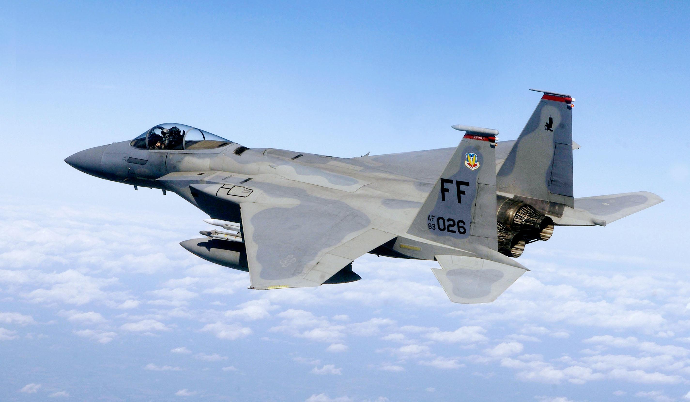 F-15,_71st_Fighter_Squadron,_in_flight.J