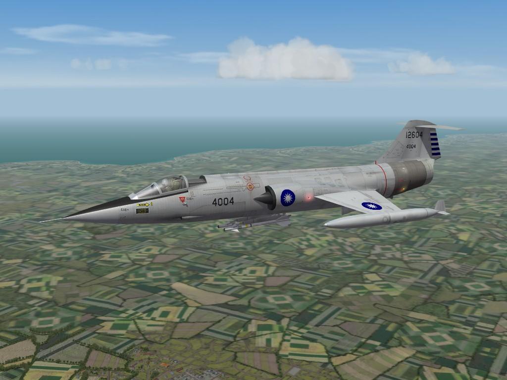 F-104G, ROCAF