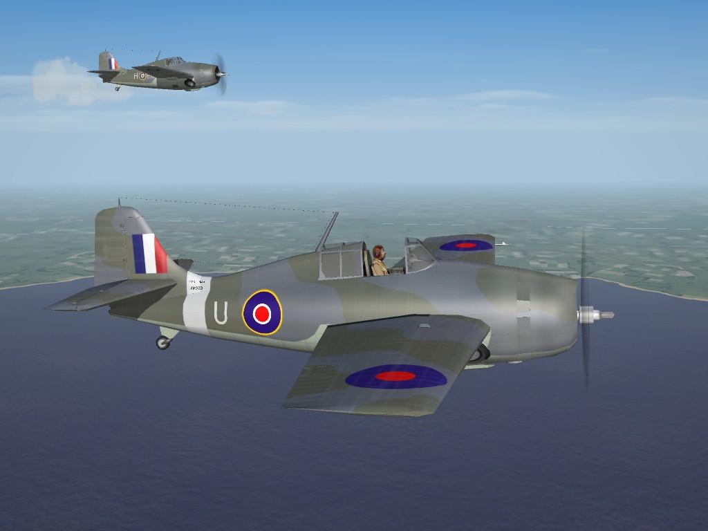 SF2 WW2 FAA Grumman Martlet I, III and IV