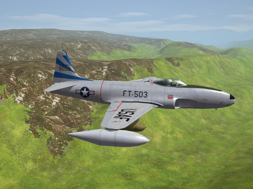 SF2 Lockheed F-80C/RF-80C/T-33A Shooting Stars Pak by ErikGen