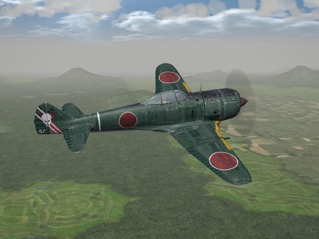 SF2 WW2 PTO/CBI Nakajima Ki-44 Tojo by Geo