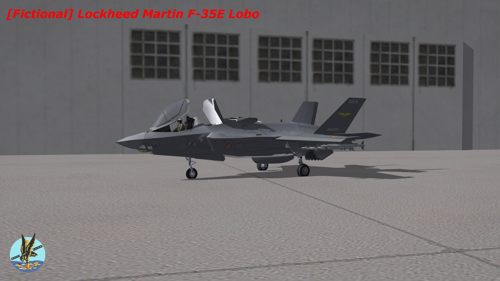 """[Fictional] Lockheed Martin F-35E """"Lobo"""""""