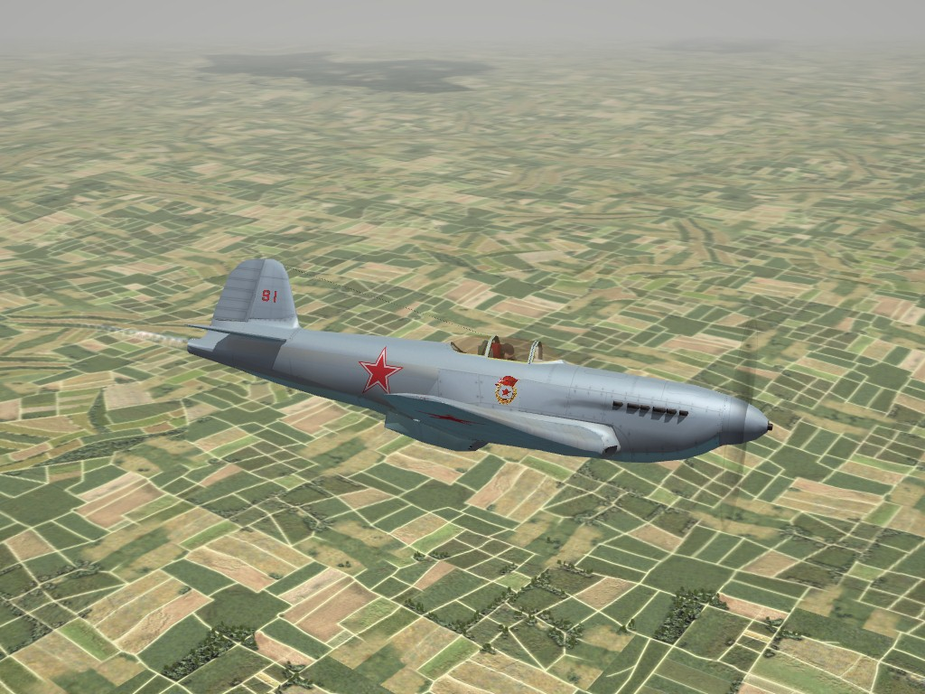 Yak-3RD Mixed Propulsion Fighter by Pasko