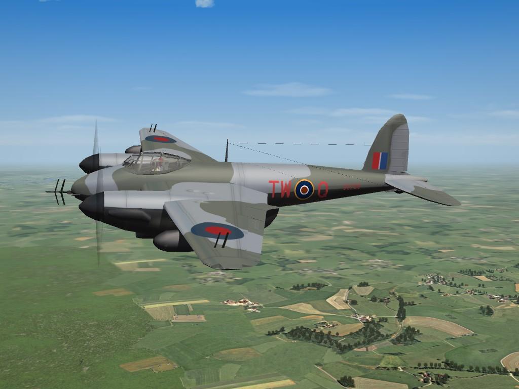 SF2 WW2 DH Mosquito NF.II Pak