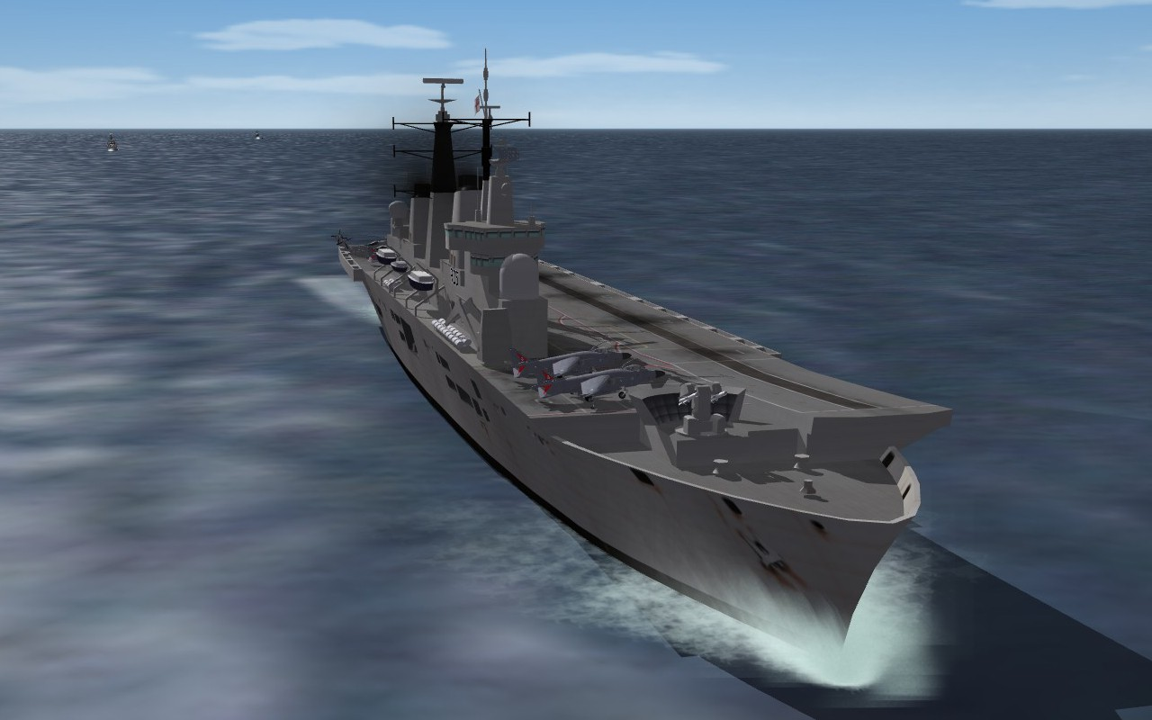 Modern Royal Navy ship update pack