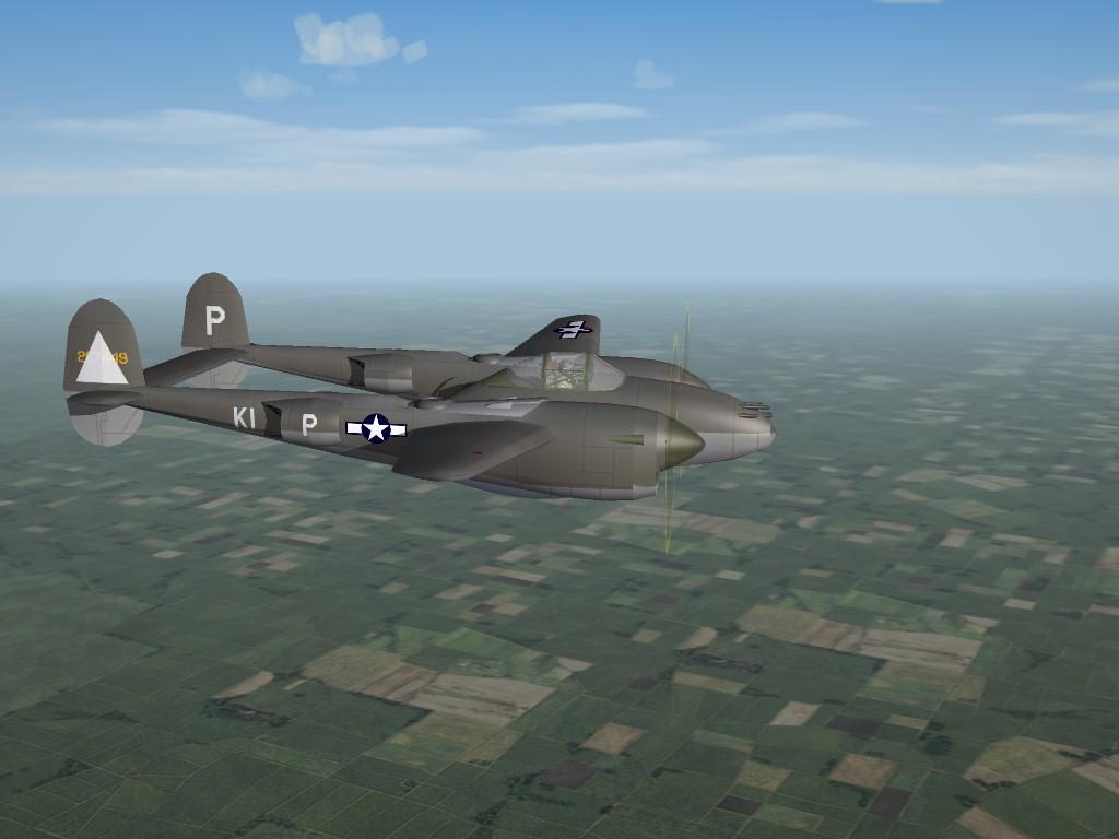 Lockheed P-38J, 20th FG, 8th AF, ETO