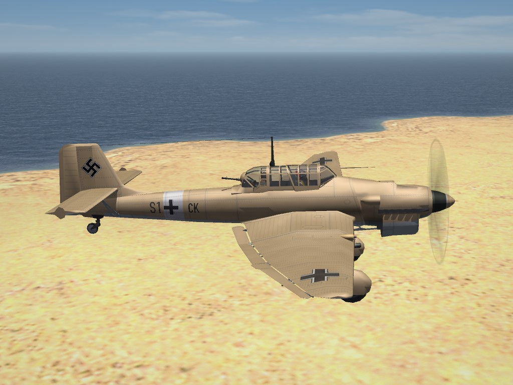 SF2 WW2 MTO Ju-87 Stuka Pak