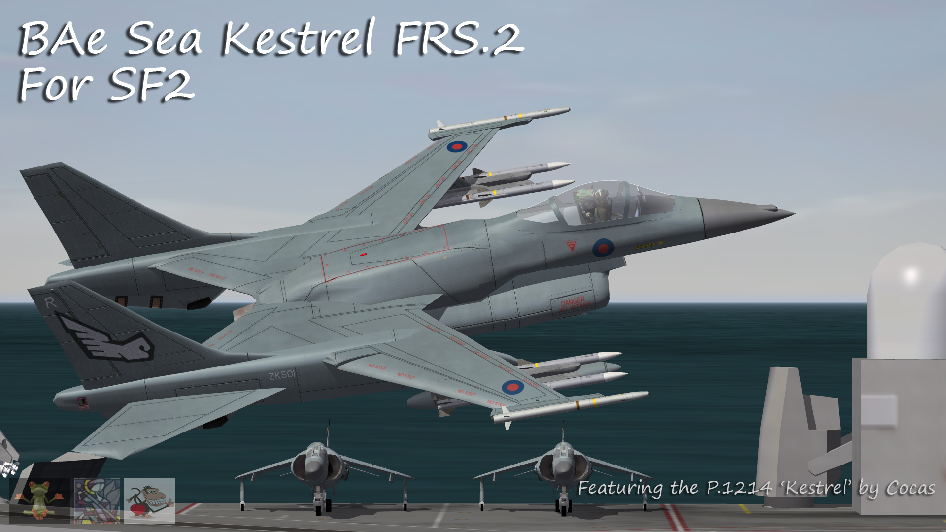 Royal Navy Sea Kestrel FRS1 & FRS.2 by Cocas - V2.0