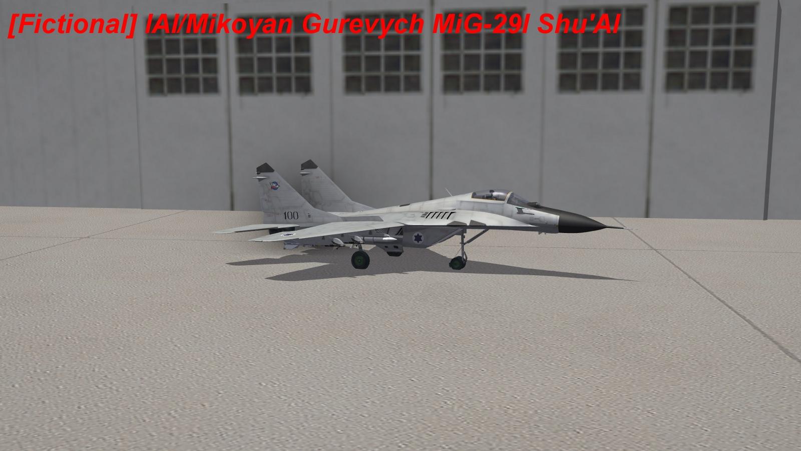 [Fictional] IAI/Mikoyan Gurevych MiG-29I Shu'Al (Fox)