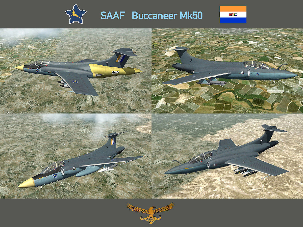 Buccaneer Mk50 SAAF for SF2