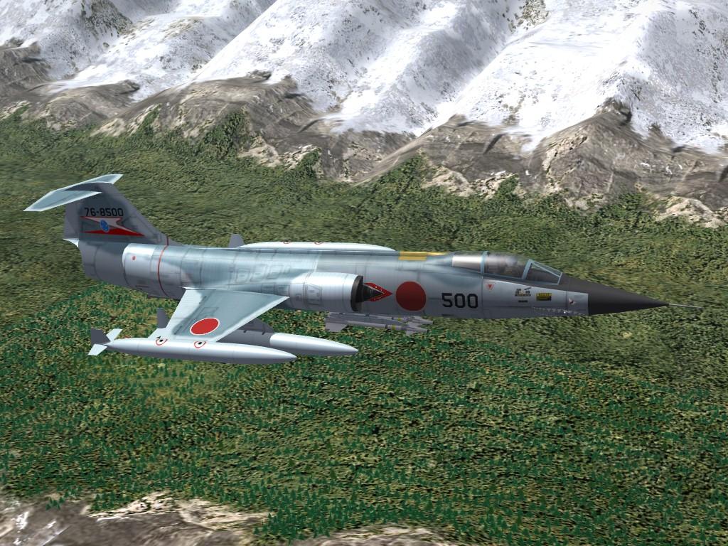 JASDF F-104J Starfighter, SF-2 Re-Optimization Pak