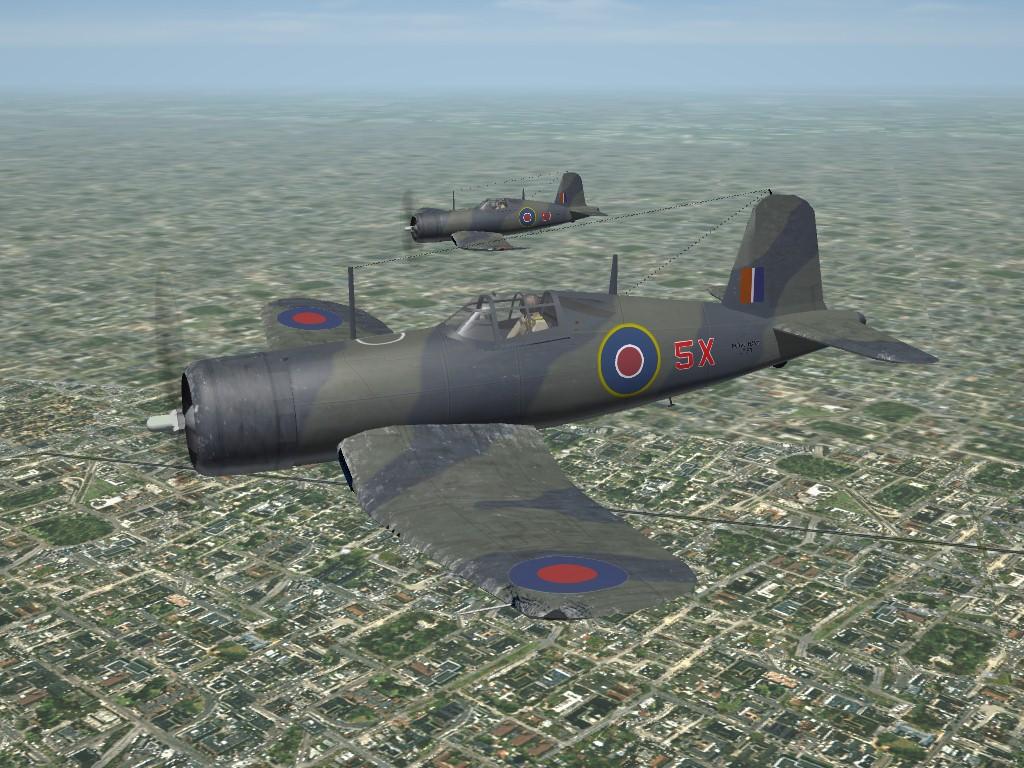 SF2 WW2 Royal Navy Corsair Mk.1 by Mod Mafia/TMF