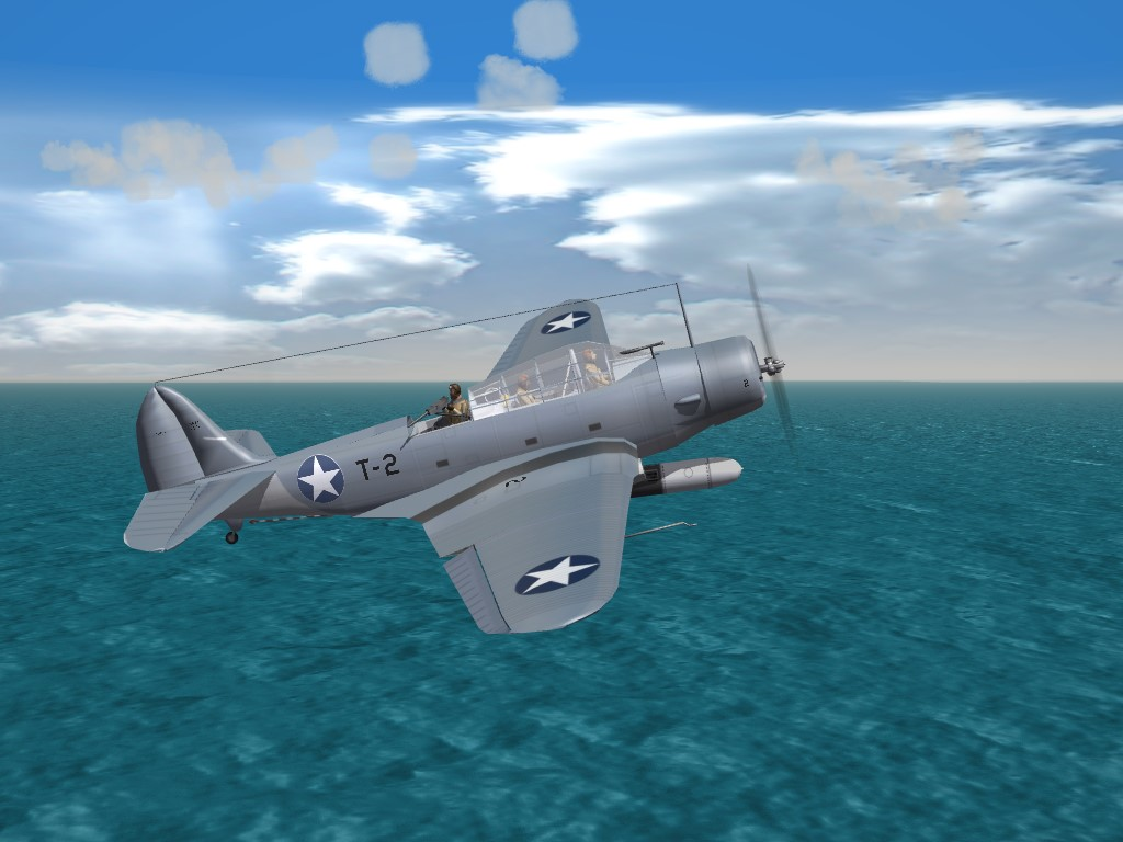 SF2 WW2 Douglas TBD-1 Devastator Tweeks Pak (DAT)