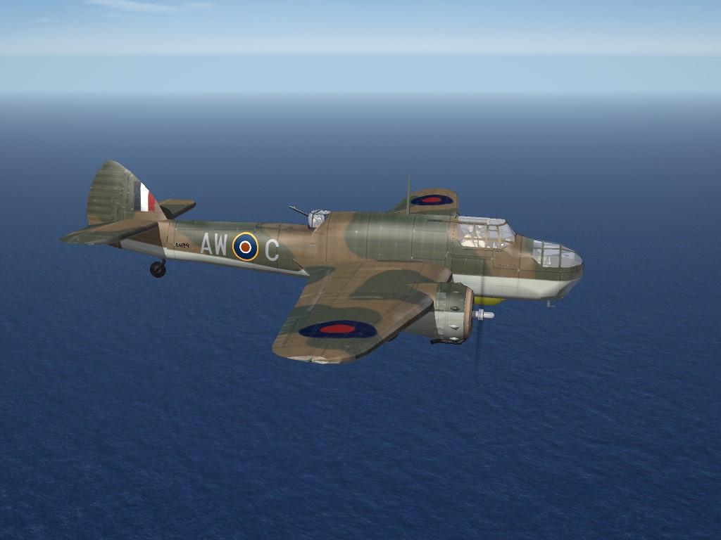 SF2 WW2 ETO Bristol Beaufort Mk.1 (DAT)