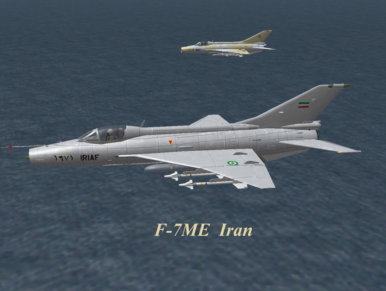 F-7ME Iran for WOI and WOE