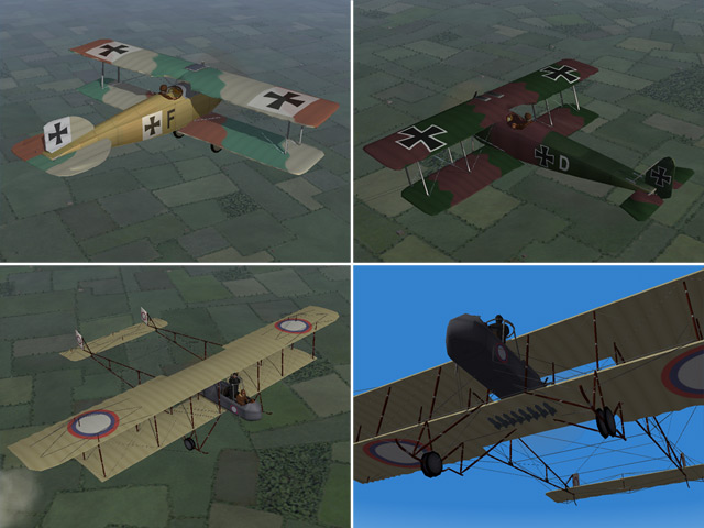 Eastern Front - Skins for 3 of Bortdafarm's planes