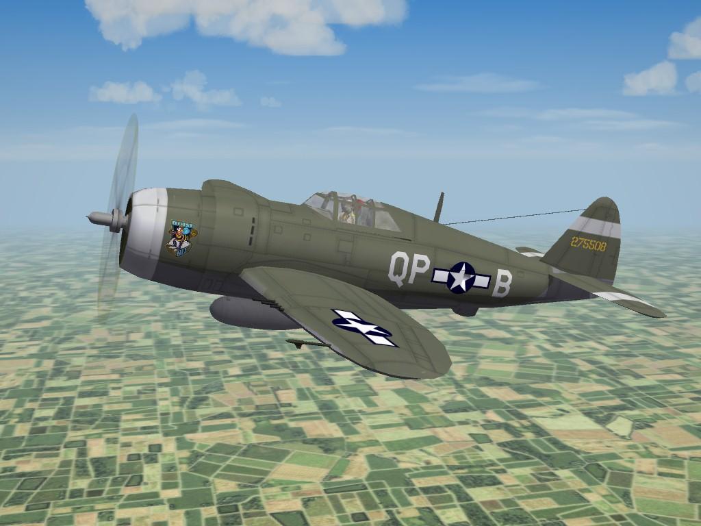 SF2 WW2 ETO P-47D Razorback Pak