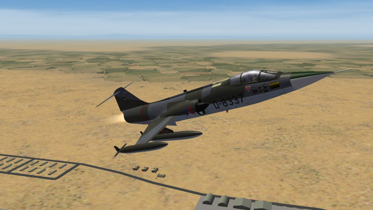 Default RNlAF F-104G Skin Replacement Pack