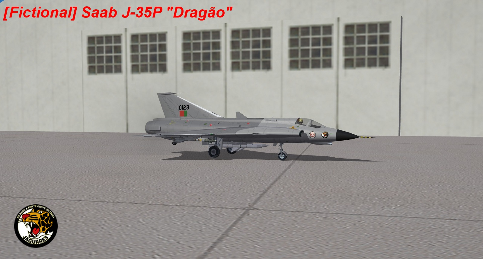 [Fictional] SAAB J-35P Dragão (Dragon)