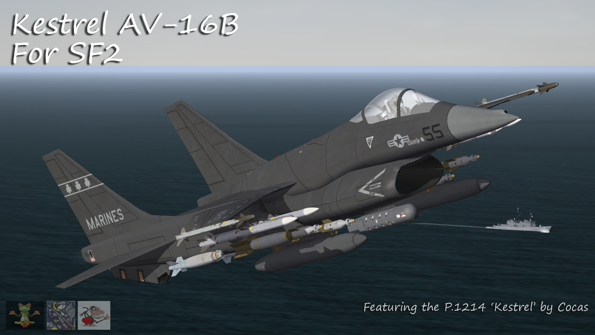 USMC AV-16A & AV-16B Kestrel II by Cocas - V2.0