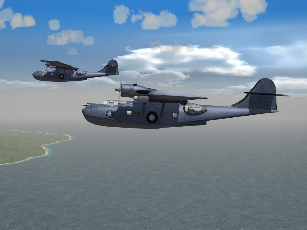 SF2 WW2 PBY-5A Catalina by Veltro2K