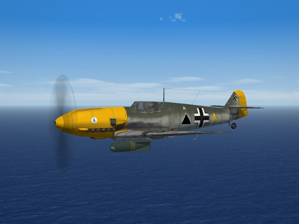 SF2 WW2 ETO Bf-109E-7 Jabo by RussoUK