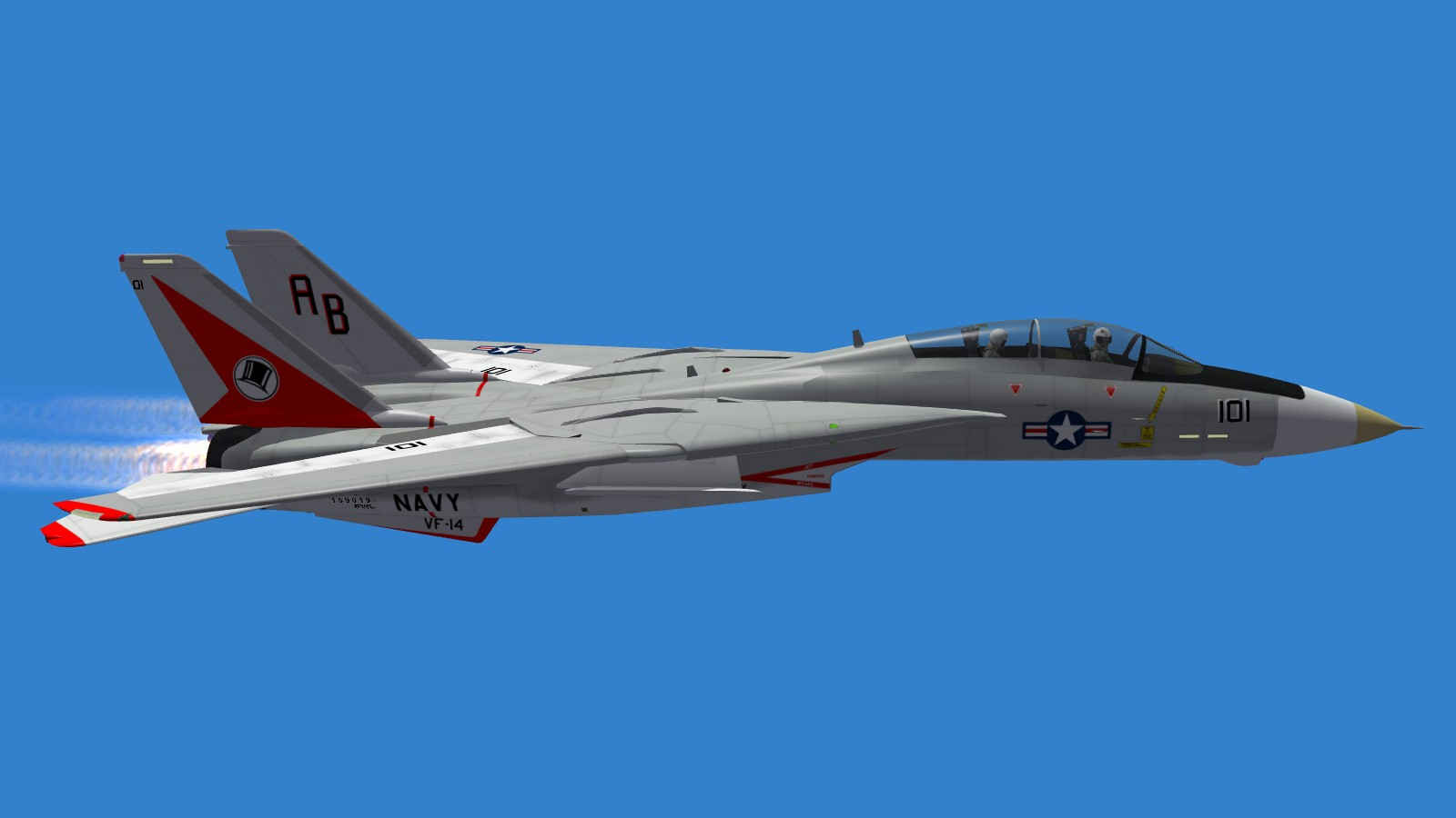 Early F-14A Tomcat Paint Schemes: The Gulls - Part 1 v1.11
