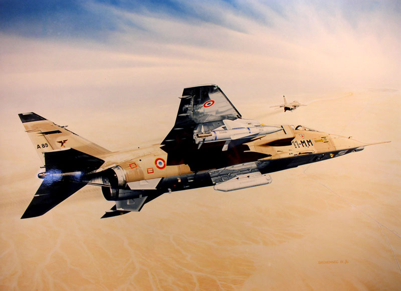 French Wings over Kuwait - Historical notes