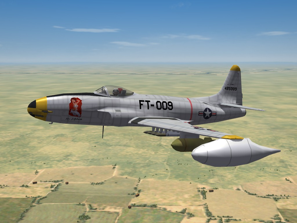 F-80C Shooting Star (by Pakso) For SF2 Updated
