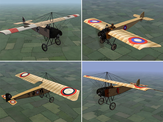 Eastern Front - Skins for 3 of Laton's Planes