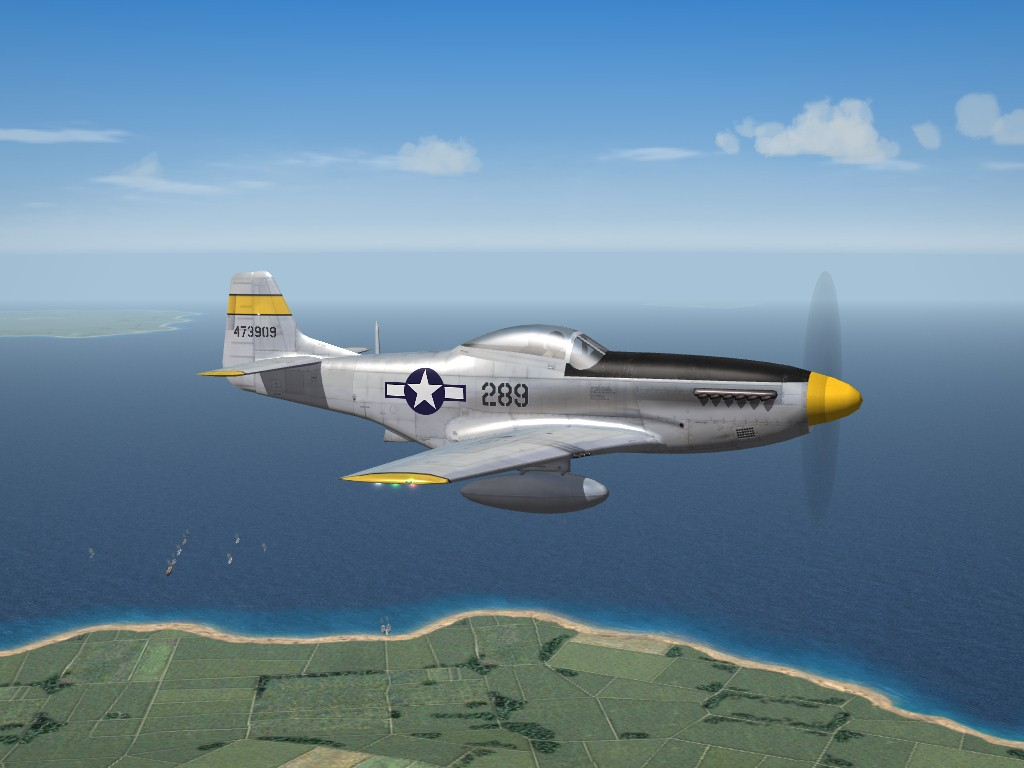 3W P-51D, 72nd FS, WW2 PTO
