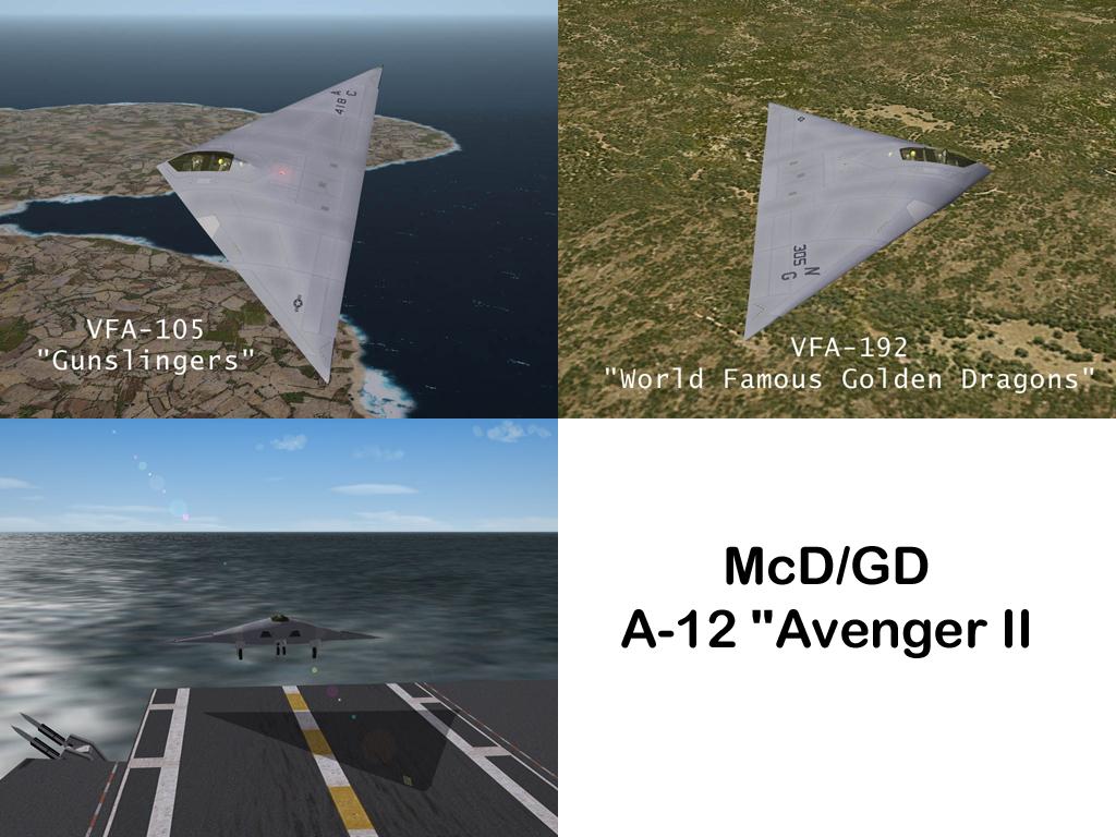 A-12 'Avenger II' by Rhugouvi (for SF2)