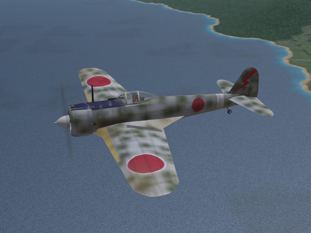SF2 Ki-43 Hayabusa (Oscar) Pak (by Wolf257)