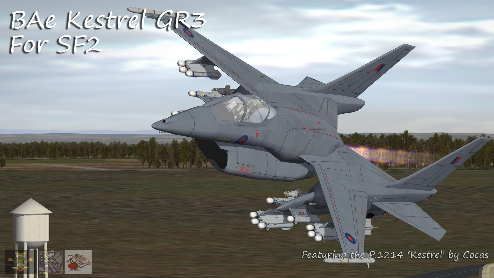 RAF Kestrel GR1 & GR3 Pack by Cocas - V2.0