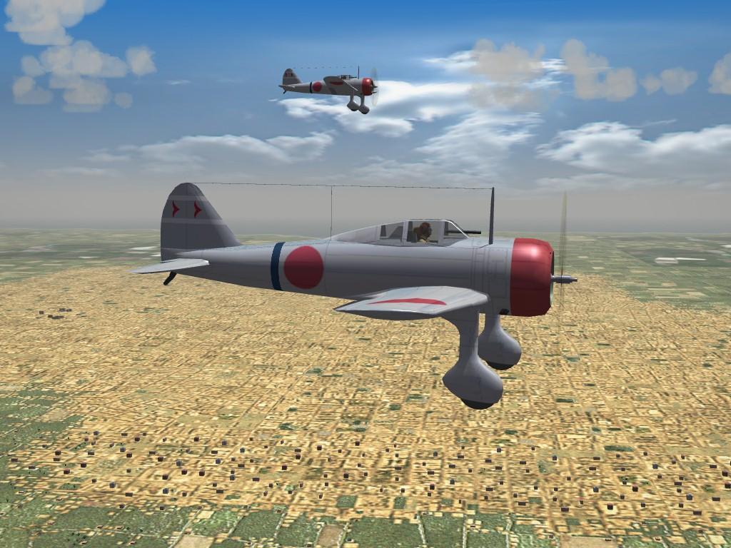 SF2 WW2 PTO Ki-27 Nate Pak