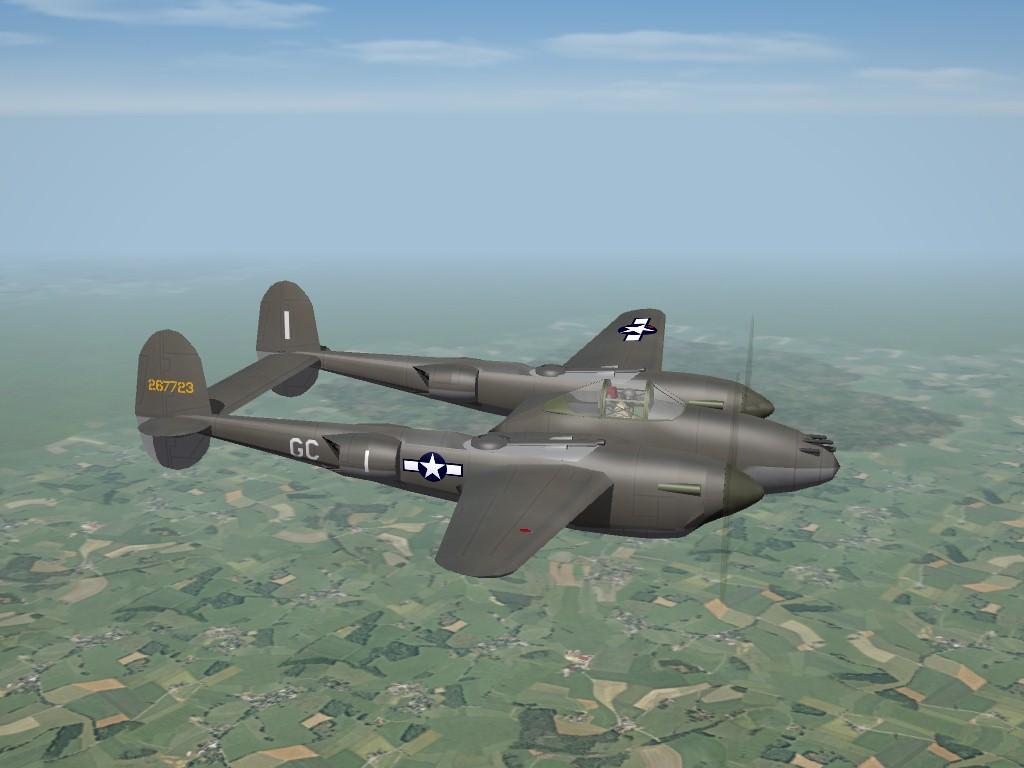 Lockheed P-38H, ETO