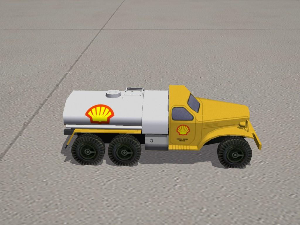 """Civilian"" Gas Truck"