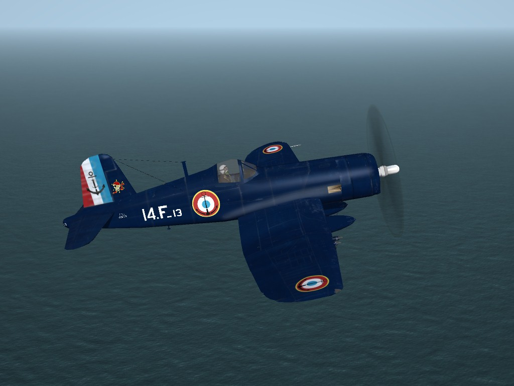 SF2 French Navy F6F-5 Hellcat and F4U-7 Corsair