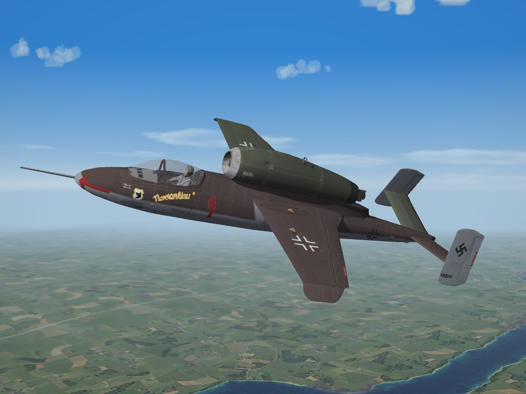 SF2 WW2 Heinkel He-162 Volksjager