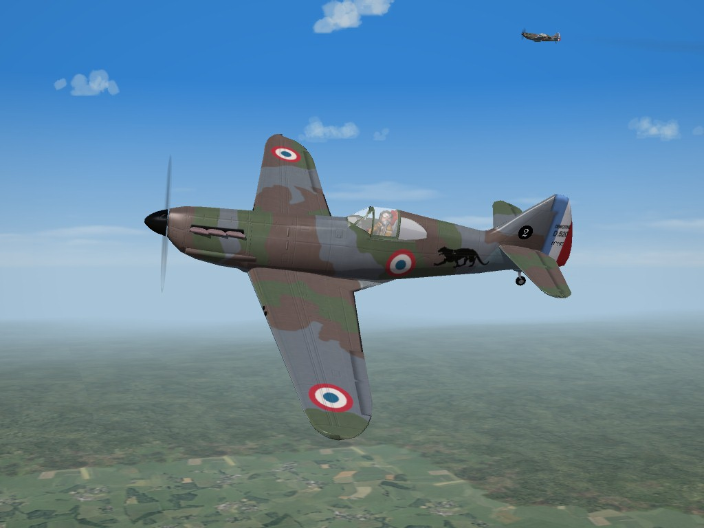 SF2 WW2 French Fighters Pak