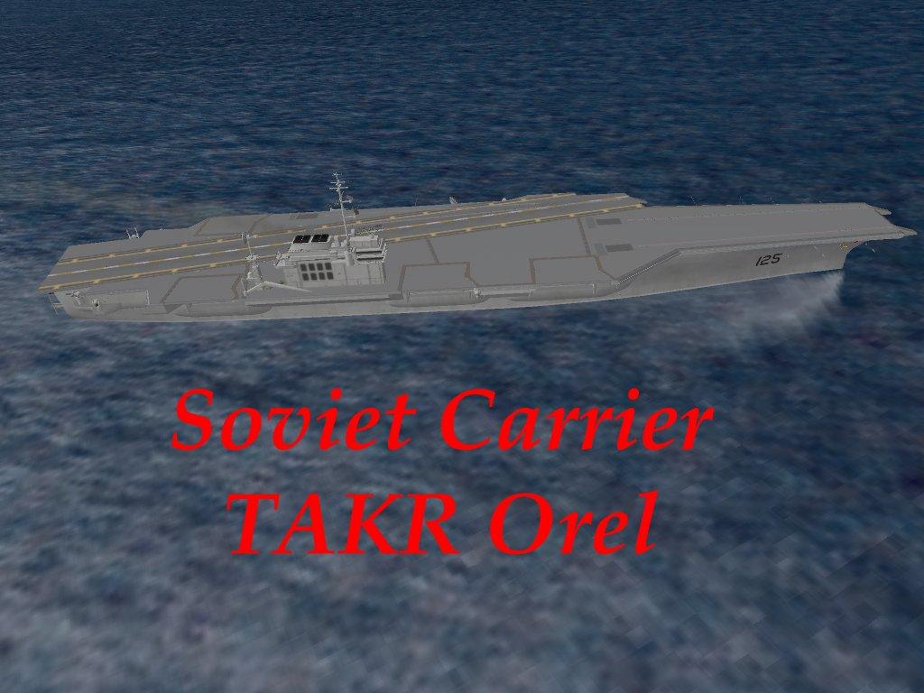 Orjol (Orel) soviet aircraft carrier