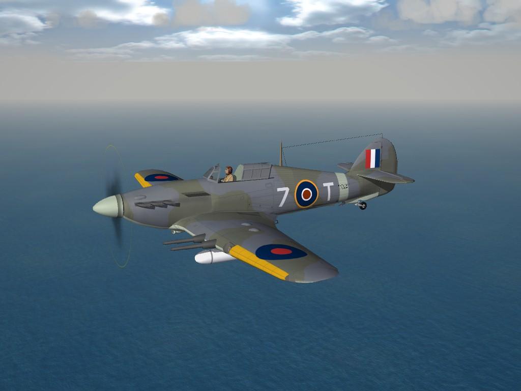 SF2 WW2 Hawker Sea Hurricane IIC, by Raven