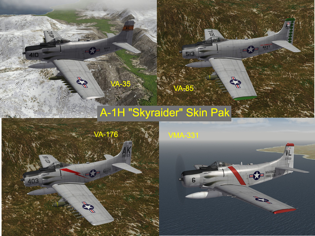 3rdW A-1H Skin and Ini Update Pak